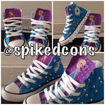 Frozen themed converse...toddler sizes