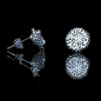 1 CT TW diamond- Diamond Veneer post earrings, 635E15921