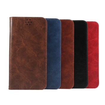 Hight Quality Leather Card Hold Wallet creative cases for iPhone 5S 6 6S Plus Samsung Galaxy S6