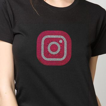 Bling T-Shirt  | Instagram , Inspired, Rhinestones, SHIRT Shop Here!