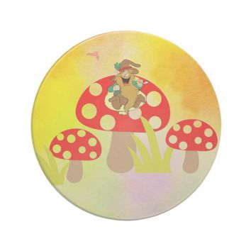 Mushrooms Drink Coaster
