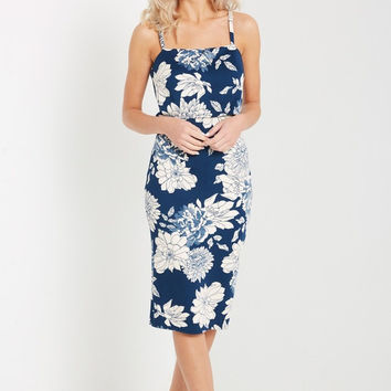 Melody Floral Bodycon Dress