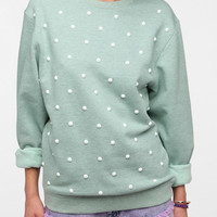 Silence & Noise Studded Pullover Sweater