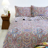 ModCloth Boho Refreshed and Radiant Quilt Set in Twin