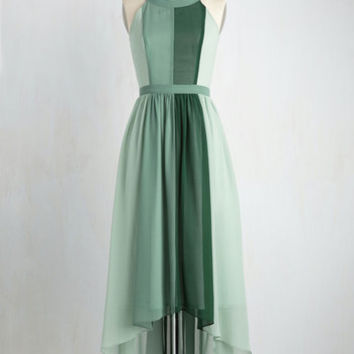 Peachy Queen Maxi Dress in Pear | Mod Retro Vintage Dresses | ModCloth.com