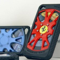 Racing Car Wheel Shape Case for iPhone 4 / 4S
