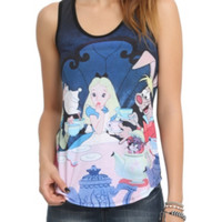 Disney Alice In Wonderland Tea Party Girls Tank Top