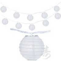 "3.5"" White Round Shaped Party String Lights"