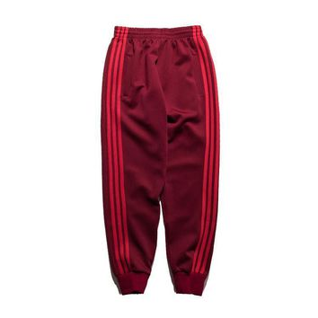auguau Men Joggers 2017 Men Cotton Sporting Side Stripe Casual Sweatpants