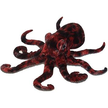 "32"" Red Octopus with Picture Hangtag - CASE OF 3"