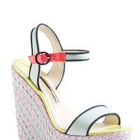 "Women's Sophia Webster 'Lucita' Wedge Sandal, 5"" heel"