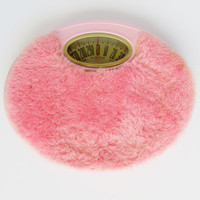 Pink Bathroom Scale Brearley Soft Carpet Top 1960s