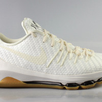Nike Men's KD 8 VIII EXT White Woven Gum Bottom