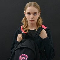 YIZI NEON Skull Backpack