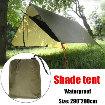 Waterproof Lightweight Camping Awning Tarp Tent Sun Shade Hammock Shelter Sleeping tent outdoor tent