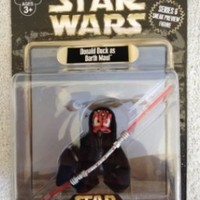 Disney Star Wars Donald Duck Darth Maul Star Wars Weekends Action Figure NEW