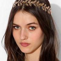 Golden Leaves Halo Headpiece- Gold One