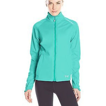 Under Armour Women's ColdGear Infrared Softershell Jacket, Neptune/Sugar Mint...