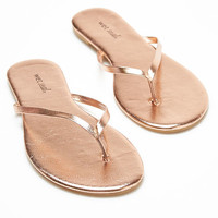 Basic Thong Sandals | Wet Seal
