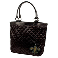 New Orleans Saints NFL Sport Noir Quilted Tote