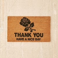 Chinatown Market For UO Thank You Doormat | Urban Outfitters