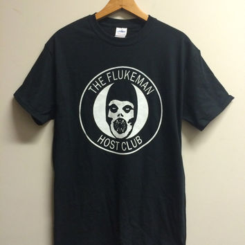The Flukeman : Host Club - Files / Misfits Tee Shirt