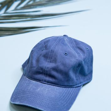 Basic Baseball Cap, Navy