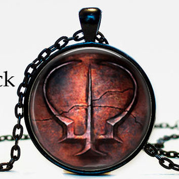 Brotherhood of blood dark souls ii from pendanteden on etsy brotherhood of blood dark souls ii pendant necklace geekery video game pc game pendant gift for aloadofball Choice Image