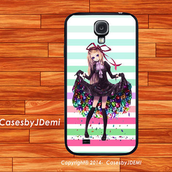 Stripes Colorful Girl,Samsung Galaxy S4 case, , iPhone 4 /4S case, iPhone 5 /5c/ 5s, , Samsung Galaxy Note2, Samsung Galaxy Note 3,Galaxy S3