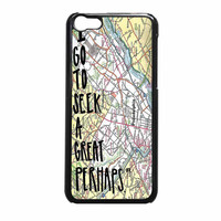 John Green Looking For Alaska Quotes I Go To Seek A Great Perhaps iPhone 5c Case