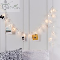 Battery Powered Photo Clip String Lights gerlyanda Decorative LED Christmas Lights for Party Holiday Decoration Garland