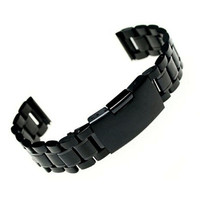 Fabulous 2016 Stainless Steel Bracelet Watch Band Strap Straight End Solid Links