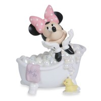 Precious Moments® Wash Away Your Troubles Minnie Mouse Porcelain Figurine