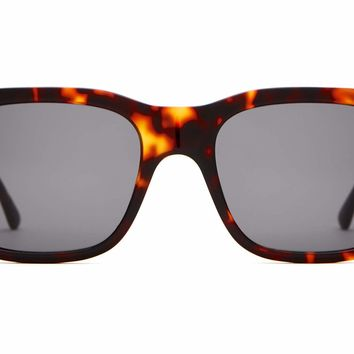 Crap Eyewear - Cosmic Freeway Dark Tortoise Sunglasses / Grey Lenses