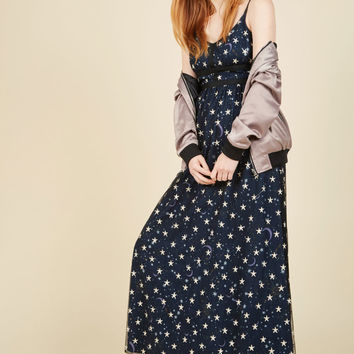 Nightfall Fantasia Maxi Dress | Mod Retro Vintage Dresses | ModCloth.com