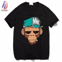 hcxx smoking monkey tshirt