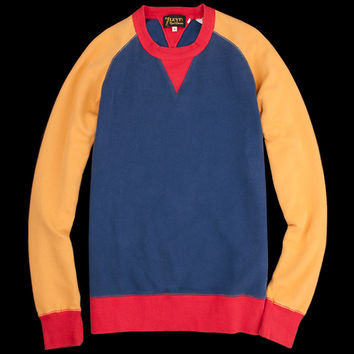 UNIONMADE - Levi's Vintage Clothing - 1950s Crew Sweatshirt in Primary Color Block