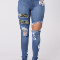 Beverlywood Jeans - Medium Blue