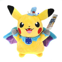 2016 New 15-25cm Pokemon Pikachu Doctor Brinquedos Plush Move & TV Action Figure Toys