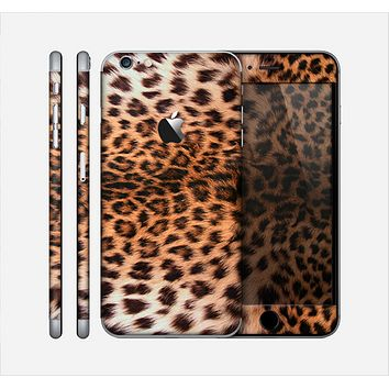 The Mirrored Leopard Hide Skin for the Apple iPhone 6 Plus