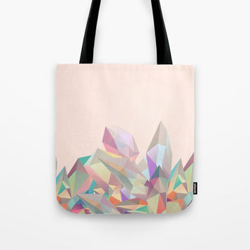 Crystallized Tote Bag by Printapix