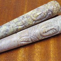 Stone 6'' Chillum (Shiva God of Destruction)