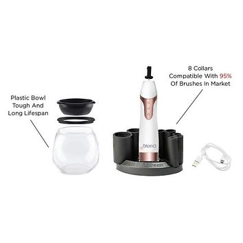 Makeup Brush Cleaner & Dryer Kit - The Best set for Washing and Drying All Cosmetic Make Up Brushes,