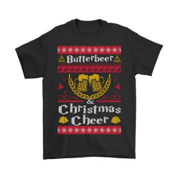 AUGUAU Butterbeer And Christmas Cheer Harry Potter Shirts