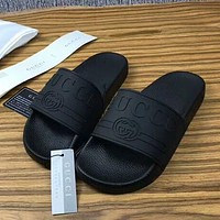 GUCCI Woman Men Fashion Causal Slipper Sandals Shoes