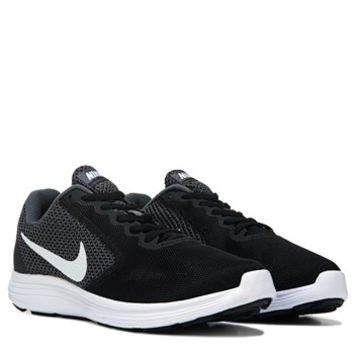 Nike Revolution 3 Running Shoe Black/White