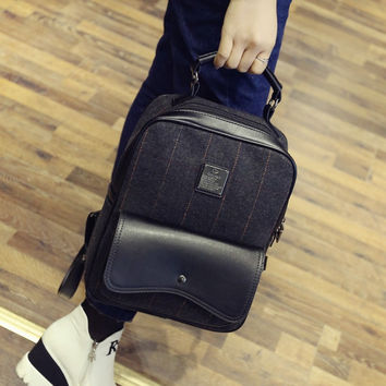 Hot Deal Comfort Stylish On Sale Back To School College England Style Vintage Casual Korean Backpack [6582315719]