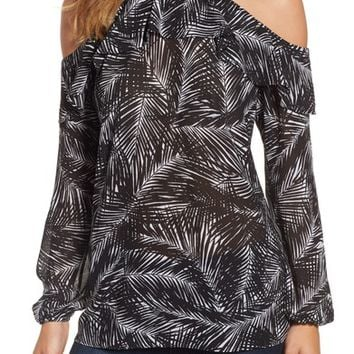 MICHAEL Michael Kors Abstract Palm Top | Nordstrom