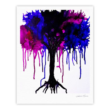 "Claire Day ""Weeping Willow"" Fine Art Gallery Print"