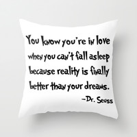 -Dr. Seuss. Throw Pillow by Sjaefashion | Society6